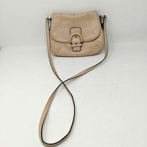 Coach Leather Crossbody Shimmer Pink Purse